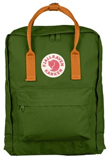 Fjallraven Kanken Classic Leaf Green-Burnt Orange