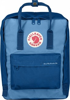 Fjallraven Kanken Classic Save The Arctic Fox Lake Blue-Air Blue