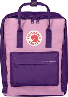 Fjallraven Kanken Classic Save The Arctic Fox Purple-Orchid