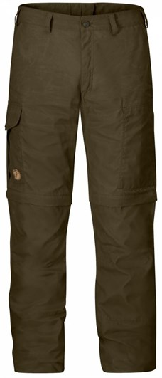 Fjällräven Karl Zip-Off Trousers Dark Olive